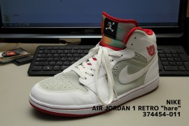 nike air jordan 1 retro hare 374454-011