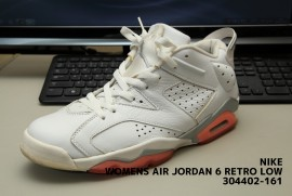 NIKE WOMENS AIR JORDAN 6 RETRO LOW 304402-161