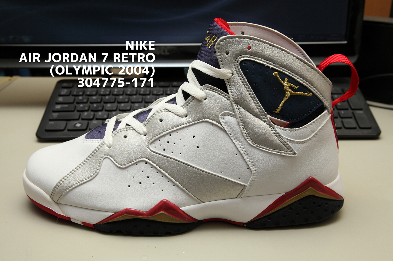 best service 3b969 d1d42 NIKE AIR JORDAN 7 RETRO (OLYMPIC 2004) 304775-171 | 秋田市 ...