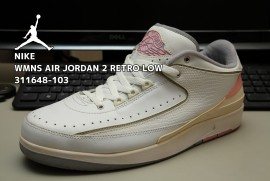 NIKE WMNS AIR JORDAN 2 RETRO LOW 311648-103