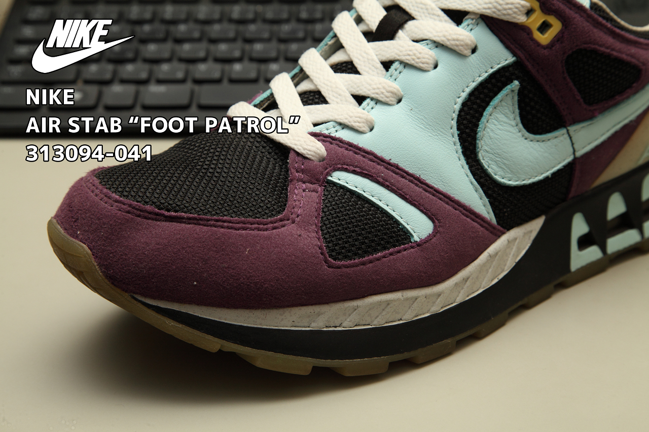 "4373b0e82e43ce NIKE AIR STAB ""FOOT PATROL"" 313094-041"