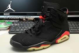 NIKE AIR JORDAN 6 RETRO + INFRARED 136038-061