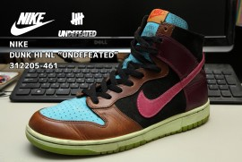 NIKE DUNK HI NL UNDEFEATED 312205-461