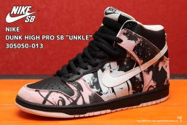NIKE DUNK HIGH PRO SB UNKLE 305050-013