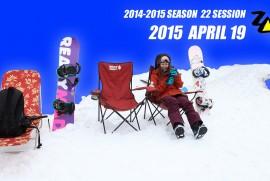 2015 4 19 ZAO SKI AREA (平成27年4月13日 山形県 山形市 蔵王温泉スキー場)