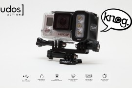 Knog qudos ACTION VIDEO LIGHT