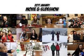 2017 JANUARY MOVIE & SLIDESHOW