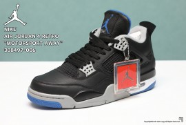 NIKE AIR JORDAN 4 RETRO MOTORSPORT AWAY 308497-006