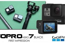 2018 9 28 GoPro HERO 7 BLACK 1st Impressinon (gopro gopro7 ゴープロ)