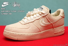 NIKE AIR FORCE 1 LOW STUSSY CZ9084-200