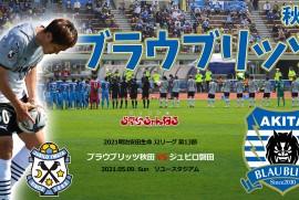 ブラウブリッツ秋田 VS ジュビロ磐田 (2021年5月9日 秋田市 ソユースタジアム)